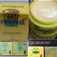 Paket Cream Temulawak Original Holo Gold Besar + Sabun Widya Original