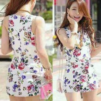 dress flower cotton rayon