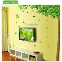wall sticker pohon gugur ijo 60x90