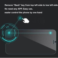 Tempered Glass Smart Back Button for iphone 6 plus