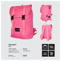 Tas Ransel Sekolah Kuliah Laptop Wanita Casual - Ravre The Envy Pink