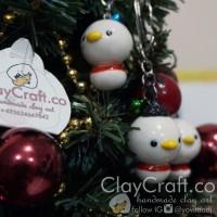Handmade Polymer Clay Babi Bird Chibi animal anime kartun jepang