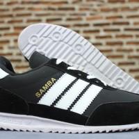 Jual Sepatu Casual Adidas Samba Hitam Putih