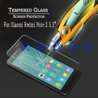 Tempered Glass Xiaomi Redmi Note 2 ( Screen Protector / Anti Gores )