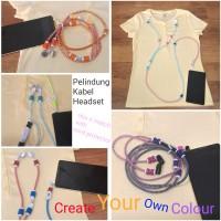 Pelindung kabel earphone headset / iphone ( cord protector bumper case