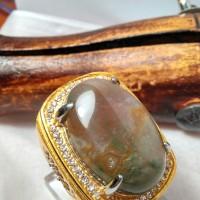 Lumut Suliki Ring 20 ( batu cincin )