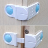 Kunci Pengaman Laci / Lemari es untuk anak / Child Safety Drawer Lock