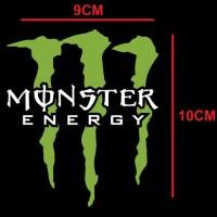 Sticker Cutting Monster Energy Sticker Motor Sticker Mobil