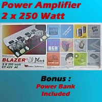 Kit Power Amplifier 2x250W + Protektor Speaker