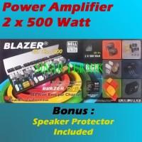 Kit Power Amplifier 2x500W + Protektor Speaker