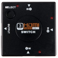 HDMI Switch 3 in 1 Adapter Switcher FullHD 1080P Selector Hub Terminal