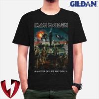Kaos Musik Band Metal Legend IRON MAIDEN - Original Gildan