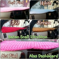 Alas Dashboard Mobil SNAIL Merah, Coklat, Putih, Soft Pink, Hot Pink