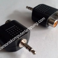 RCA Female To Male Aux Adapter 3.5mm - Konverter Kabel