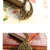 Kalung Mode Liontin Batu Style Europe Classical Jewelry Stone Neckless