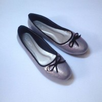 Flat Shoes De Verre Glitter