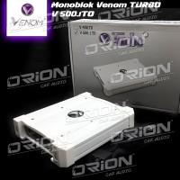Monoblok Venom Turbo V500.1TO [ORION CAR AUDIO BANDUNG]