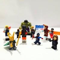 1 Set Lego Mini Figure THE AVENGERS : AGE OF ULTRON