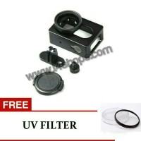 Aluminium case / hard case xiaomi yi bonus uv filter