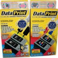 Tinta Suntik DataPrint Warna dan Hitam Untuk ketrik Printer Canon