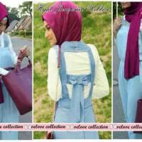 hijab jumpsuit ribbon
