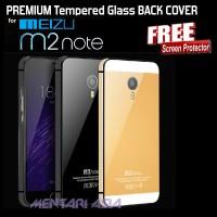 PREMIUM Tempered Glass BACK COVER MEIZU M2 Note (+FREE SP)