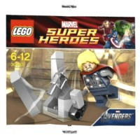 LEGO Marvel Avengers-30163 Thor and the Cosmic Cube Polybag Super Hero