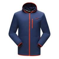 Jaket Gunung/Hiking SNTA 8801 Navy/Orange Waterproof