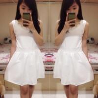 Premium Dress Pesta White