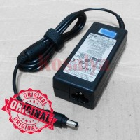 (ORI) Adaptor / charger laptop samsung (output: 19v-3.16A)