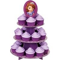 CUPCAKE STAND / rak cupcake 3 tier birthday karakter sofia T45 L30
