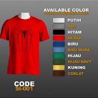 T-shirt / Kaos Superhero : Spiderman | SI-001