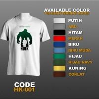 T-shirt / Kaos Superhero : Hulk | HK-001