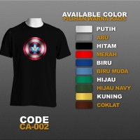 T-shirt / Kaos Superhero : Captain America | CA-002