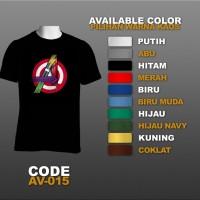 T-shirt / Kaos Superhero : The Avengers, Shield | AV-015