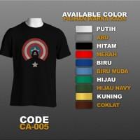 T-shirt / Kaos Superhero : Captain America | CA-005