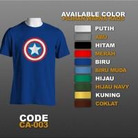 T-shirt / Kaos Superhero : Captain America | CA-003