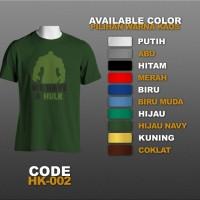 T-shirt / Kaos Superhero : Hulk | HK-002