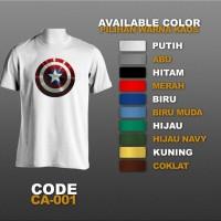 T-shirt / Kaos Superhero : Captain America | CA-001