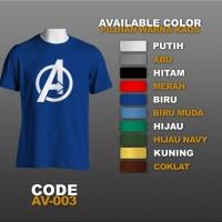 T-shirt / Kaos Superhero : The Avengers, Shield | AV-003