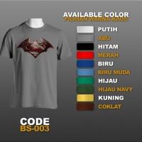 T-shirt / Kaos Superhero : Batman vs Superman | BS-002