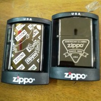 korek api zippo kw super black ice