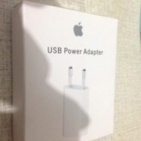 CHARGER ADAPTOR ORIGINAL APPLE IPHONE 4 5 5S 6 ADAPTER IPOD CASAN ORI
