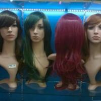 wig rambut palsu panjang long hair wig