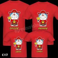 Doraemon Chinese New Year Sincia | Kaos Couple Imlek | Family T-Shirt