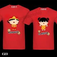 Cute Chinese New Year Couple 2016 Monkey | Kaos Imlek | Family T-Shirt