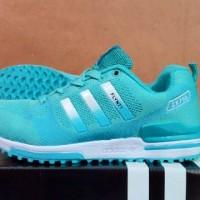 Toko Sepatu Online Adidas Sport Olahraga Joging ZX 750 Women Biru Blue