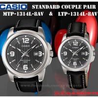 jam tangan casio couple   jam tangan pasangan MTP-LTP-1314L-8A
