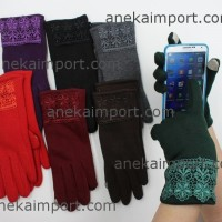 Sarung Tangan Musim Dingin Wanita Touch Screen/Gloves Winter Katun D