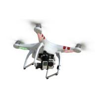 DJI Phantom 2 + Zenmuse H3-3D (3 axis) For GoPro